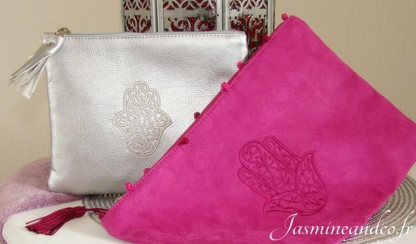 pochette marocaine khamsa