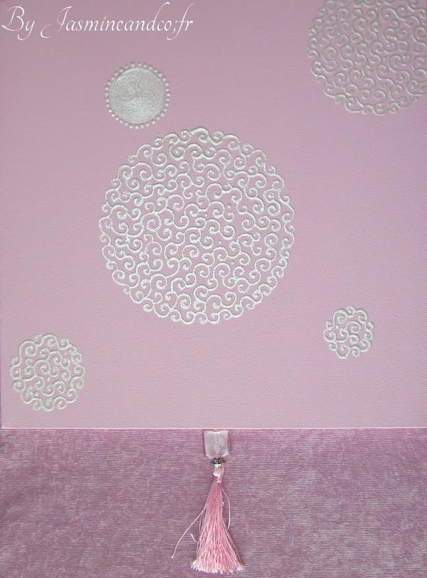 tableau bulle d'arabesque