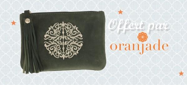 pochette marocaine pompon