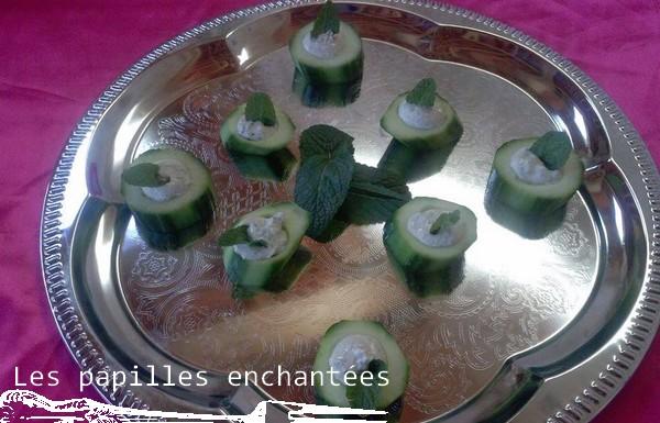 concombre à l'oriental