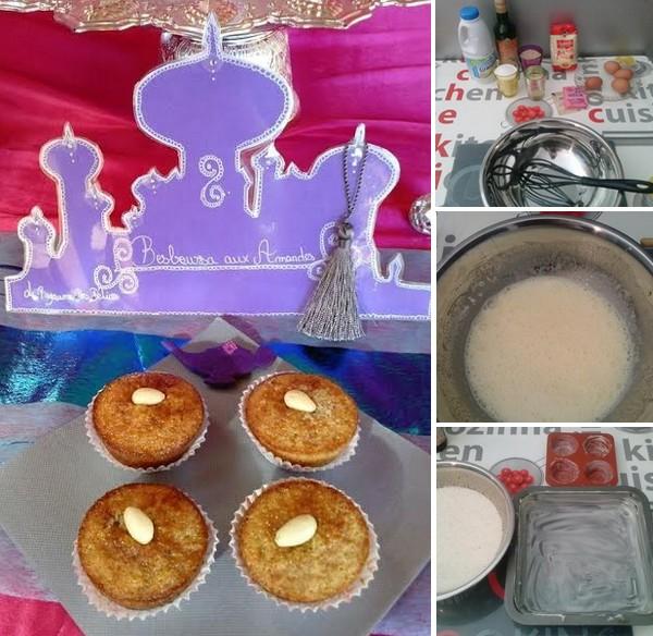 besboussa aux amandes muffin