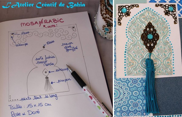 Mon carnet d 39 inspirations jasmine and co for Porte orientale