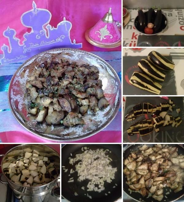 zaalouk d'aubergine