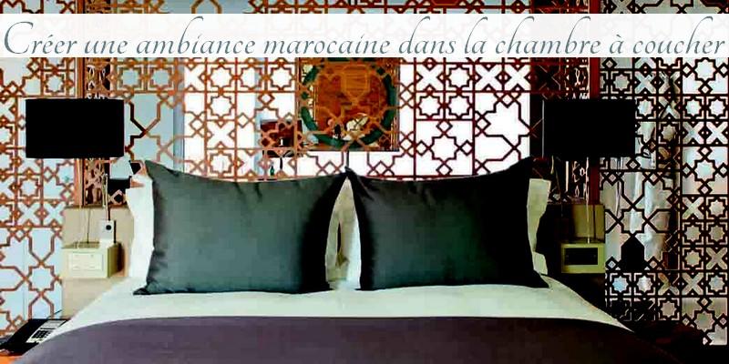 Créer une ambiance marocaine dans la chambre à coucher - Jasmine and ...