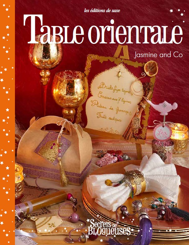 livre table orientale jasmine and co