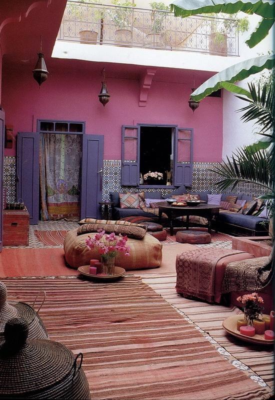 décoration terrasse orientale