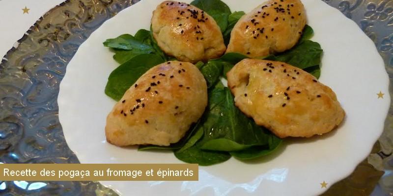 pogaca fromage épinard