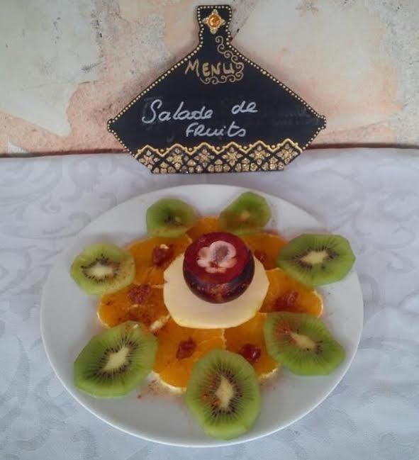salade de fruit avec datte
