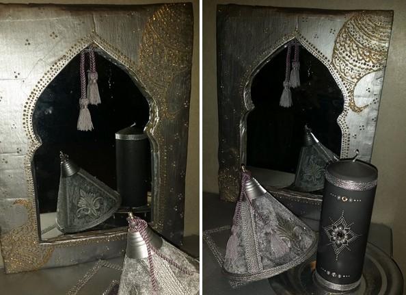 Fabriquer un miroir oriental for Miroir oriental