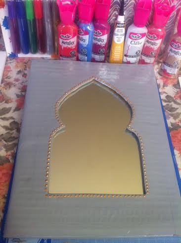 miroir oriental diy