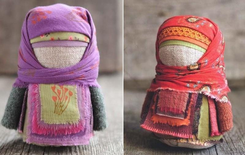 poupée hijab tissu