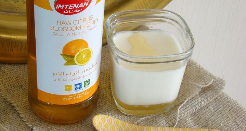 multi délice yaourt maison miel