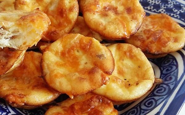 mini quiche sans p 226 te poulet fromage and co