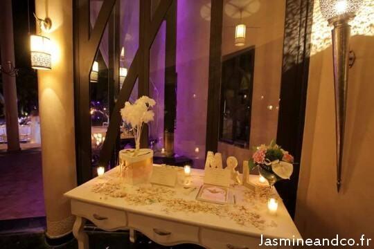 décoration mariage oriental