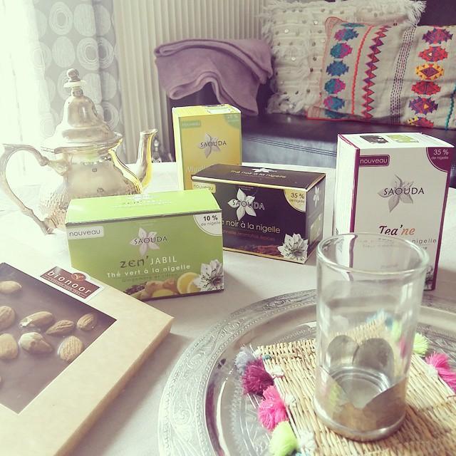 thé à la nigelle