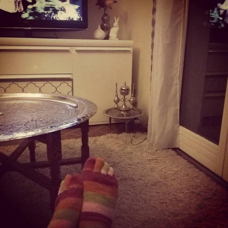 chaussette doigt de pied