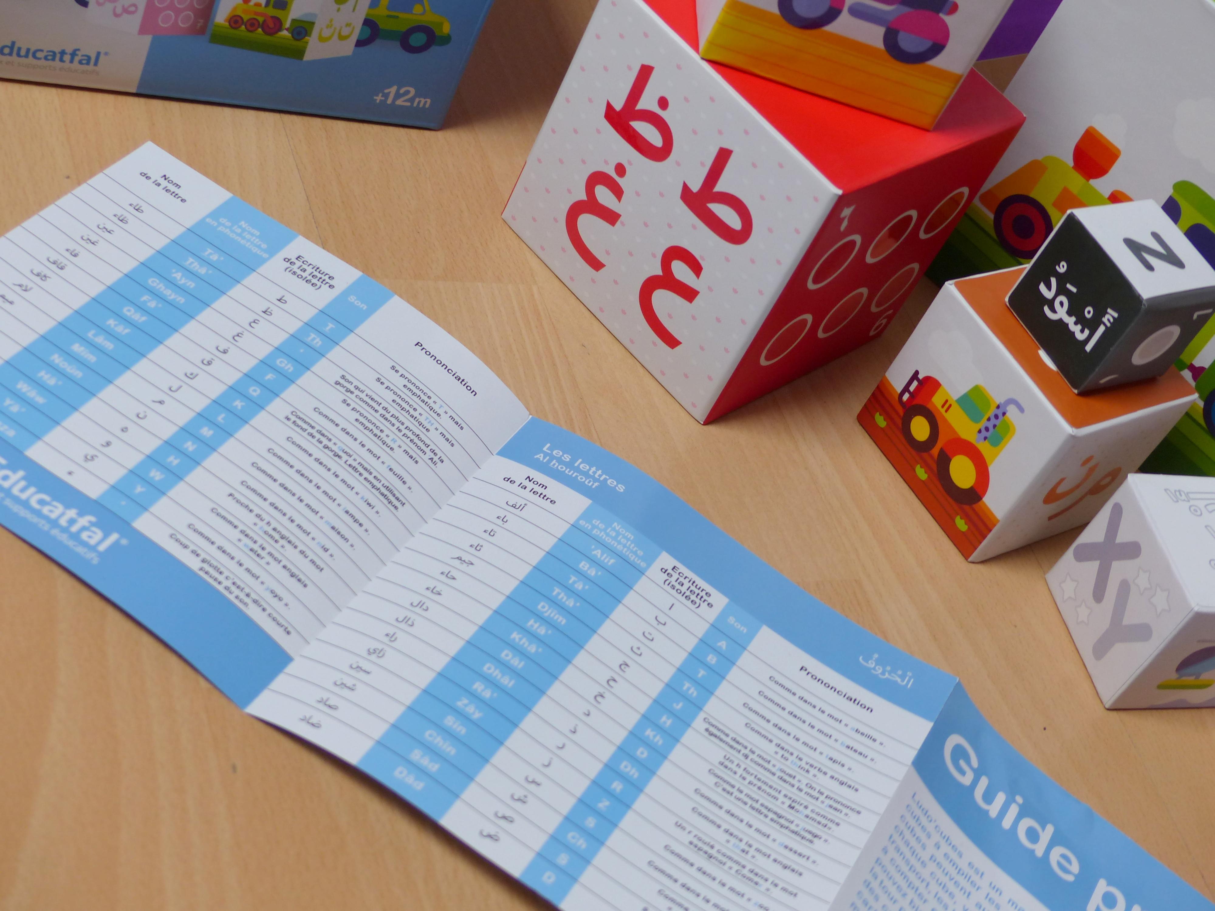 jouet pour apprendre l'arabe