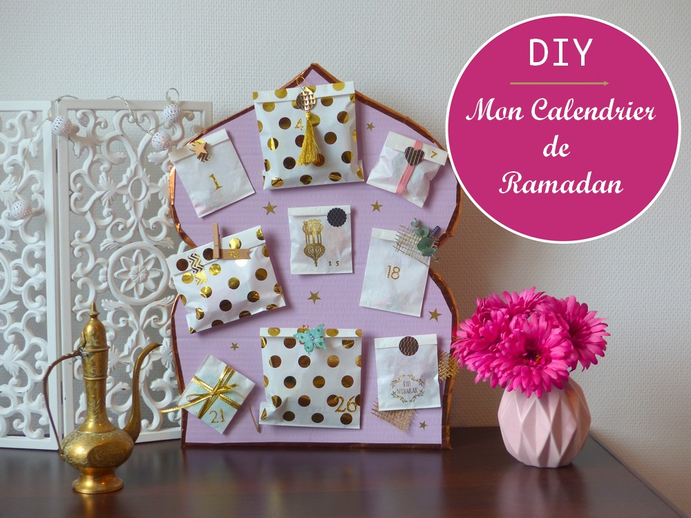 faire un calendrier de ramadan jasmine and co diy et tuto de d coration orientale marocaine. Black Bedroom Furniture Sets. Home Design Ideas