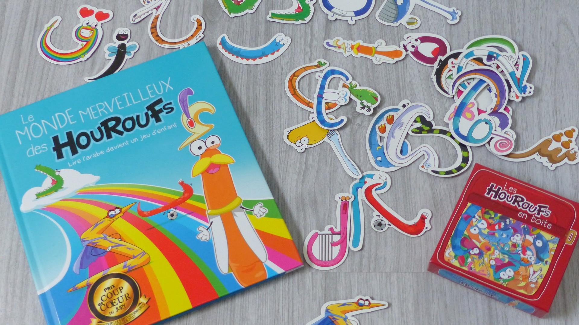 Le monde des Houroufs : apprendre l'alphabet arabe