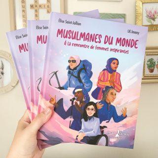 Aussitôt découvert sur le profil de @nadia_hathroubi aussitôt commandé ! Magnifique découverte qu'est ce livre des plus inspirants. On valide !   @facescachees_editions #musulmanesdumonde